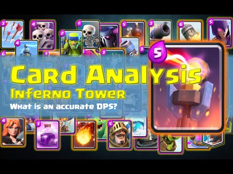 Card Analysis -- Inferno Tower -- Best Estimate on its DPS