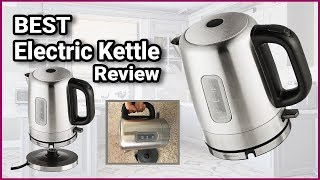 Best Electric Kettle Review 2019 | AmazonBasics Stainless Steel Electric Kettle |Watch Before Buying