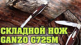 Розпакування складного ножа Ganzo G725M з Gearbest за 8$