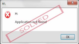 Video CD drive error: Application not found [Fixed] download MP3, 3GP, MP4, WEBM, AVI, FLV Agustus 2018