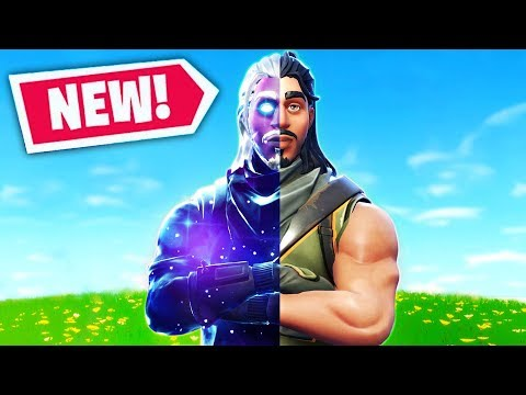 THE ULTIMATE DEFAULT SKIN In Fortnite Battle Royale (Galaxy Skin)