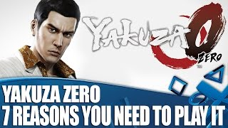 Yakuza 0 PS4 Gameplay - 7 Reasons You Need To Play It