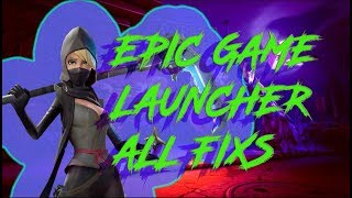 Epic Games launcher AS 1041 AS 0 error code (SOLUCION) - FORTNITE