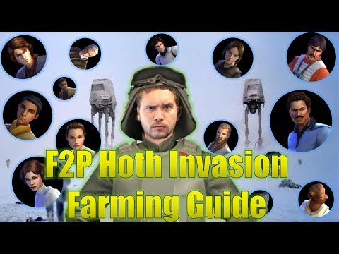 Star Wars Galaxy of Hereos: F2P Farming Guide for Hoth Invasion Territory Battle