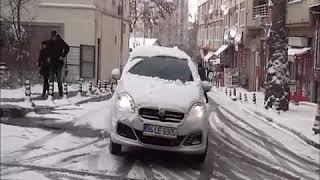 Şaşırtıcı Usta Şöförler Ve Türkiyedeki Ilk Kar Kazaları 2019 Kayan Otomobiller