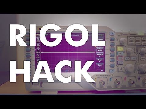 How to Hack a Rigol DS1054Z DIgital Oscilloscope - Quick Tips