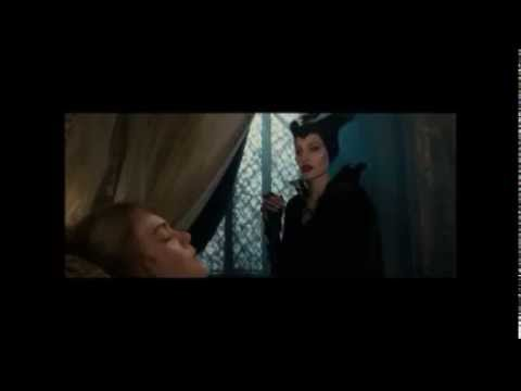 Maleficent true love kiss scene with subtitle (English)