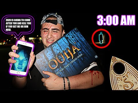 (SIRI PLAYED WITH ME) DO NOT TALK TO SIRI AT 3:00 AM WHILE PLAYING OUIJA BOARD *THIS IS WHY*