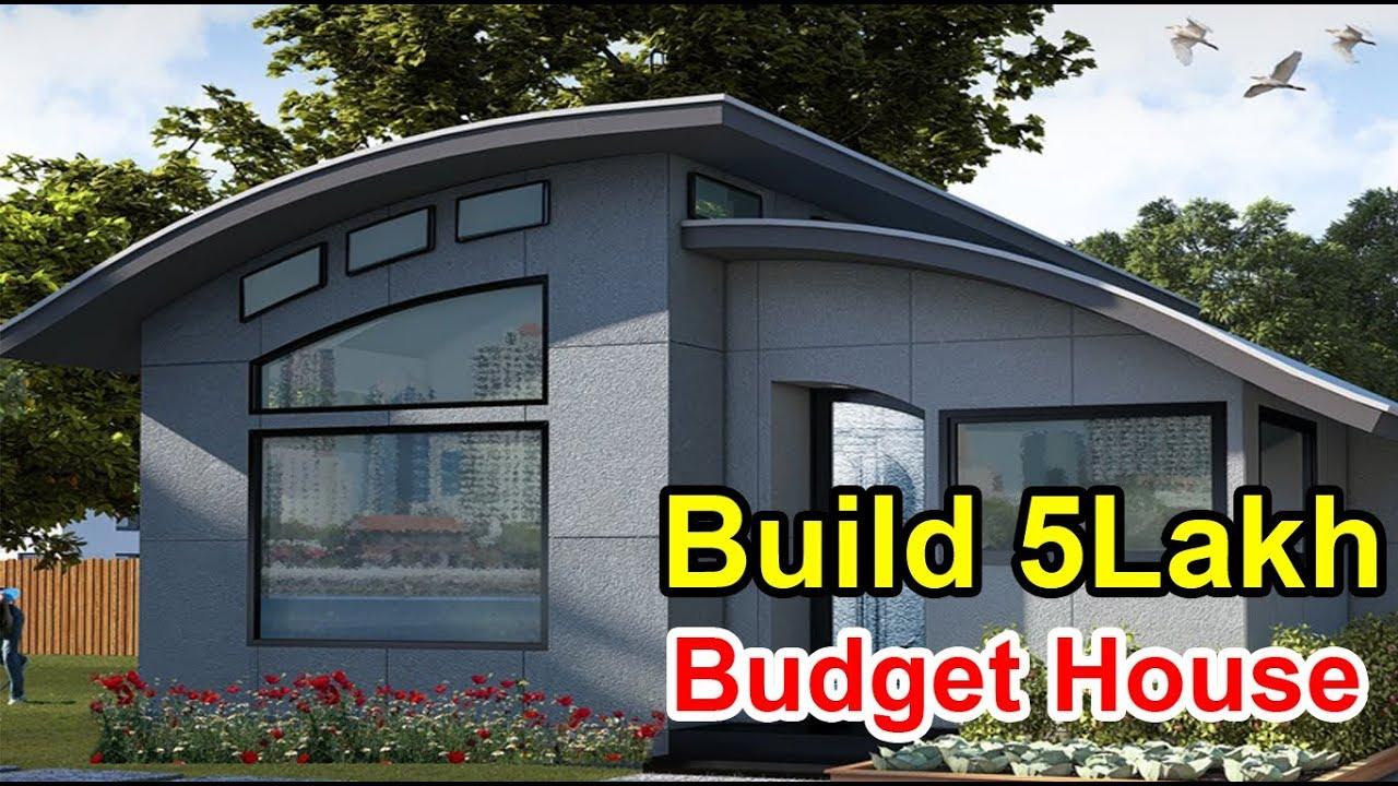 Build A 5 Lakh Budget House450sqrt Low Budget House Designs Planshow To Build Low Budget Houses