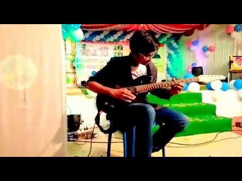 Adiga Adiga Song On Guitar