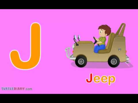 Toddler Words Words Starting With J Youtube