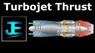 Explained: Turbojet Thrust Equation
