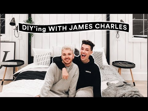 DIY Room Decor for James Charles! – Minimal + Aesthetic // Lone Fox