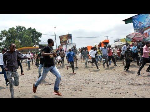 Marche du 31 Décembre  KABILA AZO BANGA POPULATION  Boyoka Ba Détails