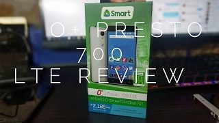 O+ Presto 700 LTE Unboxing and Hands-on