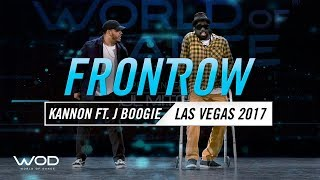 Kannon ft J Boogie   Freestahyl   FrontRow   World of Dance Las Vegas 2017   #WODLV17