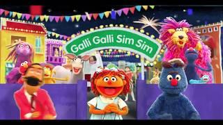 Gali Gali Sim Sim Title Sequence   Sesame Street