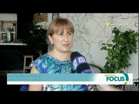 Tbilisi and Baku hosted the presentation about Kazakhstan's tourist potential