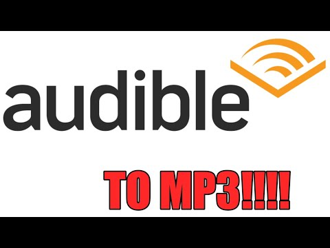 Easiest way to convert Audible to MP3 - For Free - AAX Files to MP3
