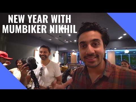 Almost Celebrated New years with Mumbiker Nikhil | NYE 2019 in Dubai