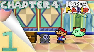 paper mario chapter 4 part 1 trials in the toy box