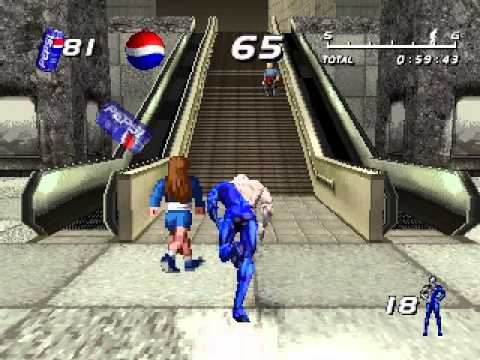 TASVideos submissions: #4199: N?K's PSX Pepsiman: The