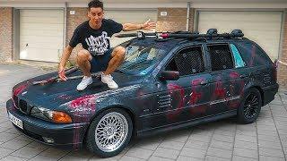 ЗОМБИ BMW - люди шарахались от неё!