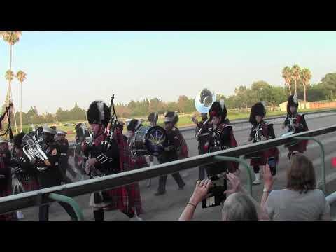 Scottish Games Pleasanton, Closing Ceremonies Video 9: Marine Corps Band & Winnipeg Police Pipe Band