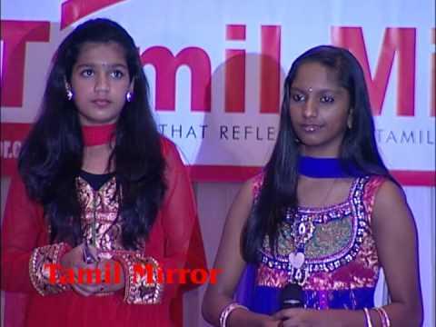 Vijitha, Praba, Sarika, Geethiyaa & Magisha at Tamil Mirror Gala 2013