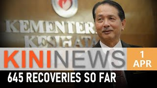 #KiniNews: Malaysia records highest number of recoveries to date
