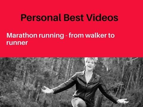 Marathon running from walker to runner
