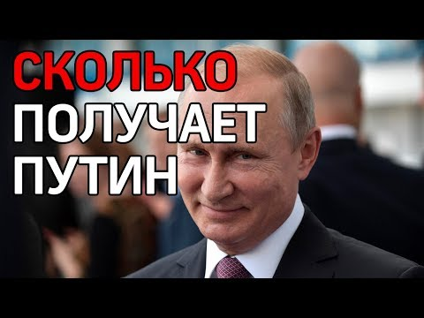 Сколько зарабатывает президент? Путин подал декларацию о доходах