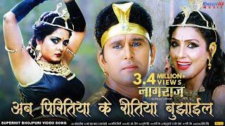 अब पिरितिया के रीतिया बुझाईल | Naagraaj नागराज | Super Hit Bhojpuri Film Song | Payas Pandit