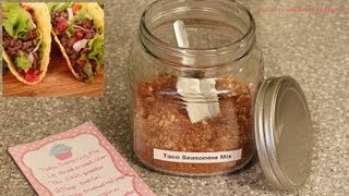 Homemade Taco Seasoning Mix Recipe / How-to Thumbnail