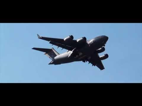 USAF C-17 GlobeMaster in Bangalore | Aero India 2015