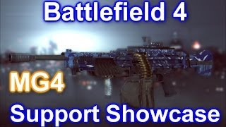 Battlefield 4 - Support Showcase: Mastering the MG4! (Battlefield 4 MG4 Review/Gameplay/Commentary)