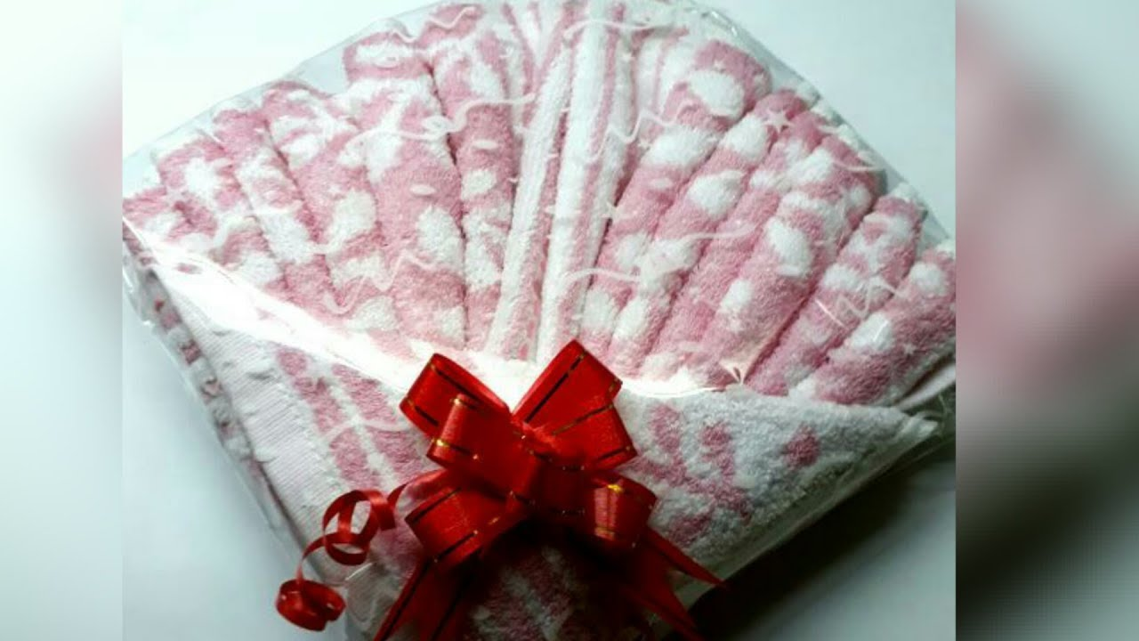 DIY Towel Gift Packing Simple And Easy Design Wrraping How To Make