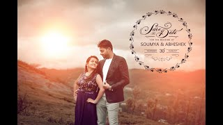 Save the date || Soumya Abishek || wedding invitation by Giristills