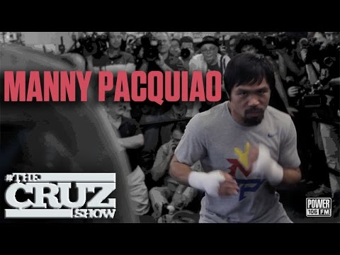 Manny Pacquiao Sings Live + Talks Mayweather Fight