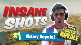 Fortnite: NEW BATTLE ROYALE - 14 KILL SOLO WIN (INSANE SHOTS)