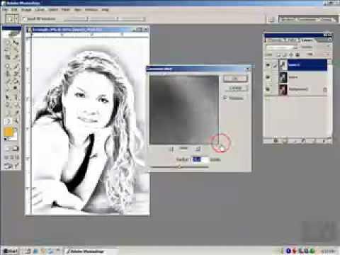 Hướng dẫn Xử lý ảnh thành tranh photoshop http://HocPhotoshop.Com