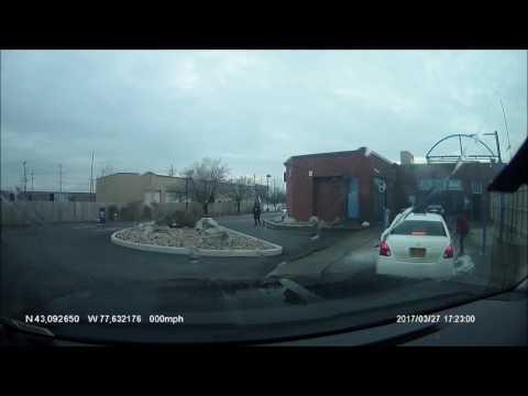 Delta Sonic Car Wash Accident - Dashcam View