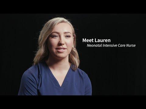 Meet Lauren, Neonatal Intensive Care Nurse