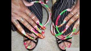 Long Nails Most Unusual and Amazing