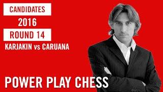 Candidates Moscow 2016 Round 14 Karjakin vs Caruana