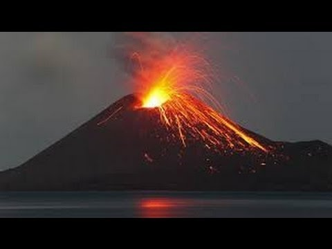natural phenomena angry volcano youtube