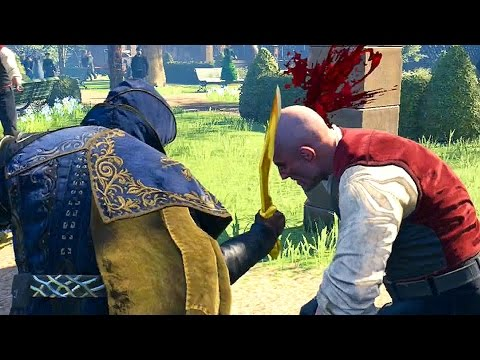 Assassin's Creed Syndicate Gold Kukri Brutal Killing Spree & Multi Kill Finishers