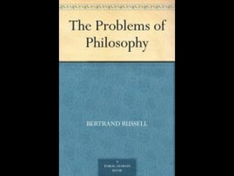 01 Russell Ch 1 hangout. Problems of Philosophy