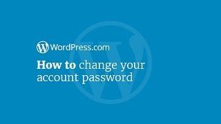 WordPress Eğitimi: Parolanızı Değiştirme