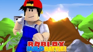 ROBLOX Adventure - BUILD BATTLE CHAMPION!!